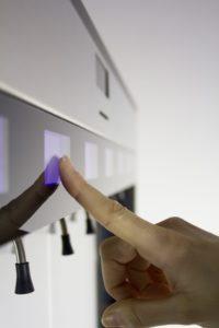 Enomatic Wine Dispenser Glass Touch Screen
